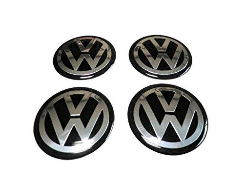 LONG-MOUNTAINS VW ホイール センターキャップ シール 65mm 4個セット