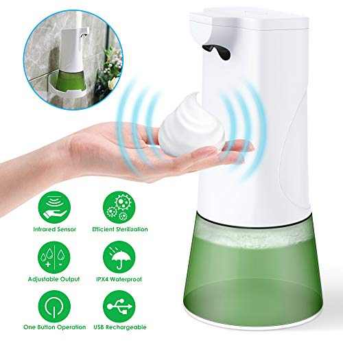 FITA Automatic Soap Dispenser, 350ml Touchless Infrared...