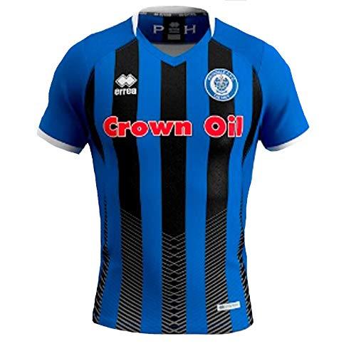 Errea 2019-2020 Rochdale Home Football Soccer T-Shirt Jersey