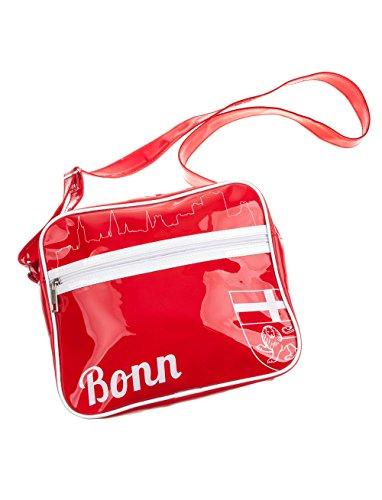 Deiters Tasche Bonn rot 25x20cm