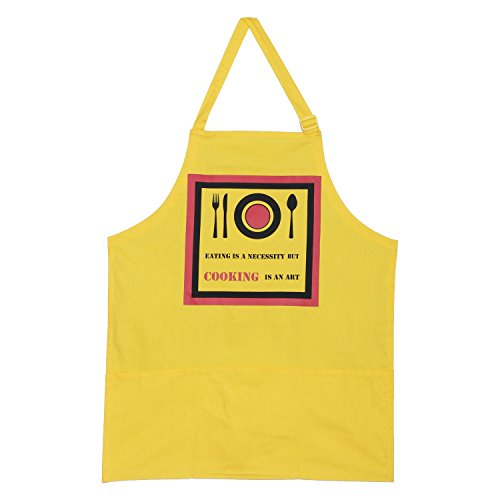 Shalinindia Screen Print Cooking Apron...