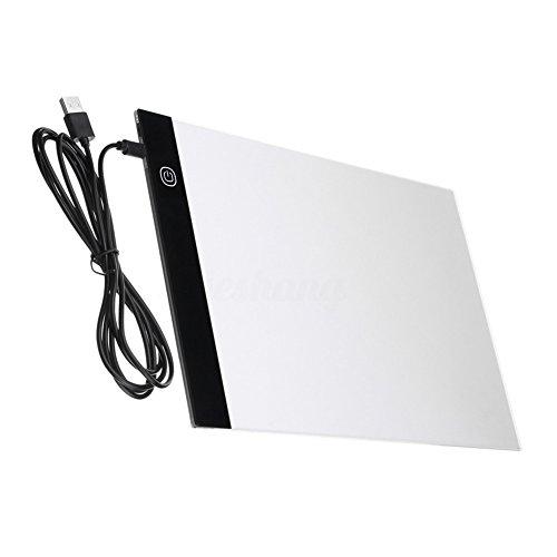 RoSoy A4 USB LED Art Stencil Board Light Tracing Disegno Copia Pad Scatola da Tavolo