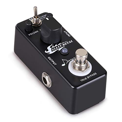 Donner Giant Metal Drive Gitarre Effektpedal Boost Distortion Effekt 3 Modi