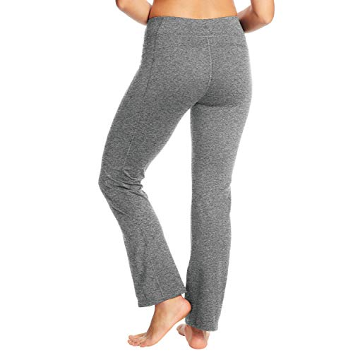 C9 Champion Women's Curvy Fit Yoga Pant, Ebony Heather - Short Length, XXL