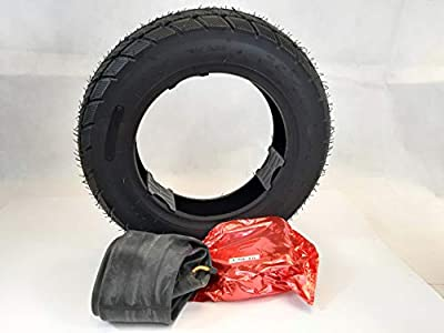 3.50-10 Black Mobility scooter tyre & tube, (6PLY) TGA Breeze S3-S4