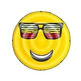 Bestway-H2OGO SummerStylez Isola Galleggiante Gonfiabile a Forma di Smile, Multicolore, 17...