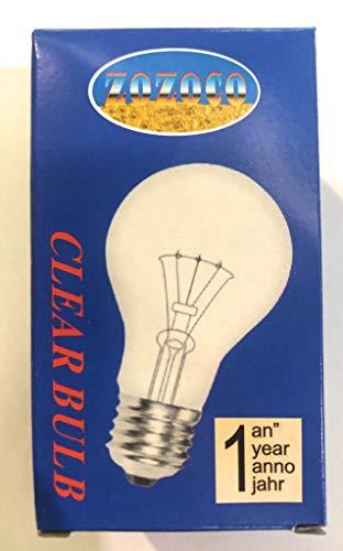 10x Glühbirne Glühlampe E27 100W klar Glühbirnen Lampe Birne iapyx®