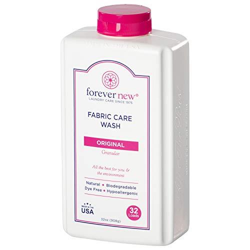 FOREVER NEW Granular Detergent Powder - Biodegradable Hypoallergenic Laundry Care Wash - Original Scented, 32 Oz