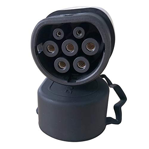 32A / 16A IEC62196-2 Stecker for EV Seite Europäischer Standard Plug 120V / 240VAC 3 Phase Stecker for EV Aufladung mit Kabel (Color : 16A)