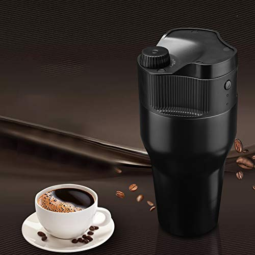 BeesClover Simple Portable Coffee Maker Travel Mug with Kcup Filter USB Coffee Maker Travel Coffee Machine