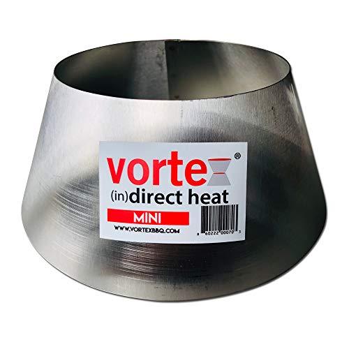 Mini BBQ Vortex (in) Direct Cooking Charcoal Grill Accessory Cone BGE Kamado Jumbo Smokey Joe - Original - USA Made -Genuine Mini Size