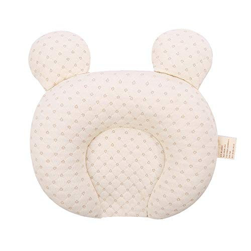 WCJ Infant Ondersteuning Head Kussens zachte baby Kussens Unisex Pasgeboren Head Shaping Pillow Ondersteuning Head Sleep Kussens