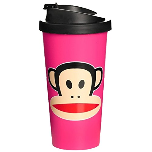 Paul Frank To Go Cup Pink, Rosa, 9.5 cm
