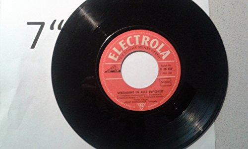 Verdammt in alle Ewigkeit / Hauptmelodie des Films / Heinz Schachtner Trompete / Bildhülle mit orangefarbenen Titel / ELECTROLA # E 20027 / Deutsche Pressung / 7
