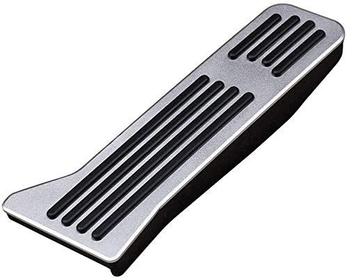 ZWWZ Cubrepedales para AutomóVil, Compatible para Ma-zda 2 3 6 Cx-3 Cx-5 Cx-9 Coche Manual Y AutomáTico Acero Inoxidable Antideslizante Accessories