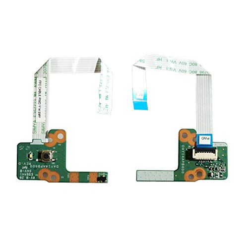 Power Button Switch Board for HP 15-P 15-K Series 15-P021CY 15-P021NR 15-P050CA 15-P114DX 15-P187CA 15-P213CL 15-P235NR 15-K073CA 15-K163CL 15-P237NR - Todiys DAY14APB6D0 32Y14PB0000 762496-001