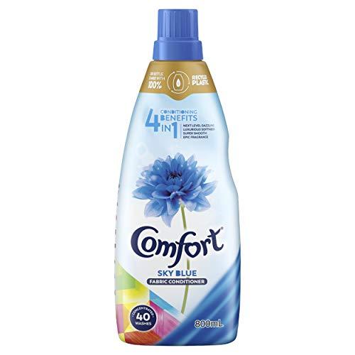 Comfort 4 in 1 Fabric Conditioner Sky Blue, 800ml