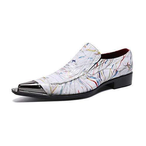 Zapatos De Vestir Oxford De Negocios Para Hombre Con Punta 2019 Nuevos,Deslizamiento...