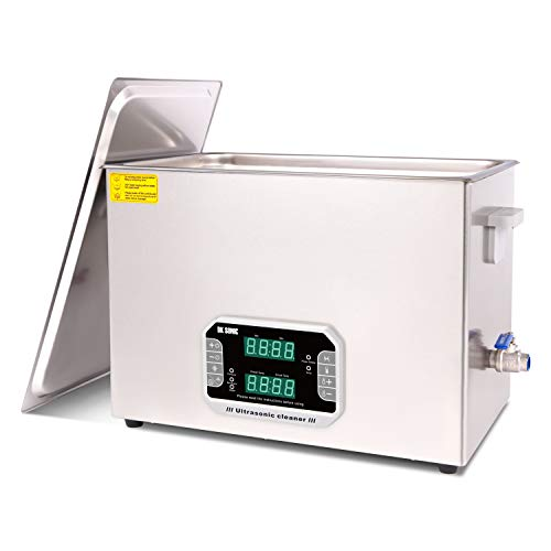 DK SONIC 30L Large Touch Ultrasonic Cleaner with Heater,Timer,Multiple Cleaning Mode for Carburetor,Automotive Parts,Gun Parts,Circuit Board,etc