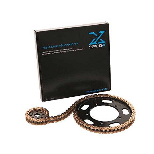 Unbekannt Motorrad Kettensatz KIT F2 Stahl KYMCO 520 ATV/Quad,300 MAXXER,04-09