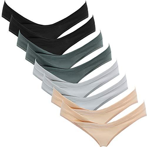 Suekaphin Womens Maternity Panties Maternity Underwear Pregnancy Postpartum Cotton Under Bump Brief,Sort A,Medium