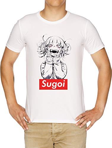 Sugoi himiko - Boku No Hero Academia Camiseta Hombre Blanco