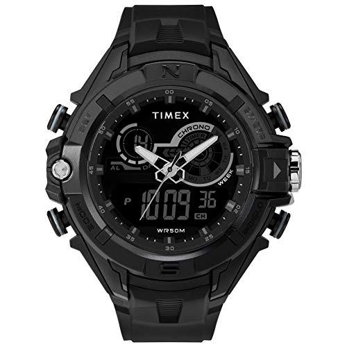 Timex Herren Digital Uhr mit Harz Armband TW5M23300