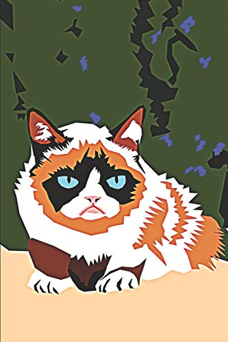 I Love Grumpy Cat Notebook: Journal Notebook with Blank Lined Pages for Grumpy Cat Lovers