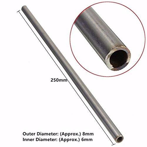 od 8mm x 6mm ID 304in acciaio INOX tubo capillare lunghezza