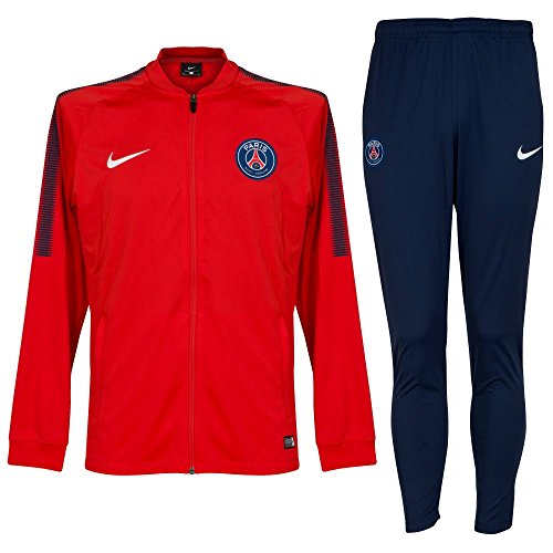 Nike Performance Paris St. Germain Dry Squad - Trainingsanzug - Rush Red/Midnight Navy/White