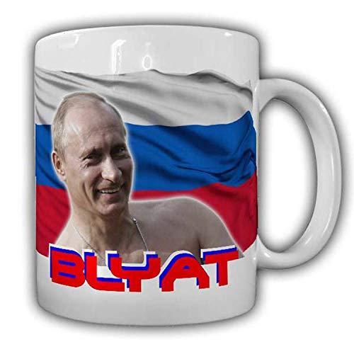 Putin Blyat Tasse Humor Fun Russia Russland Moskow Flagge Wappen Spruch#22892