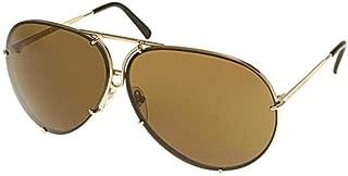 PORSCHE DESIGN P8478 A Sunglasses P'8478 Light Gold Shades