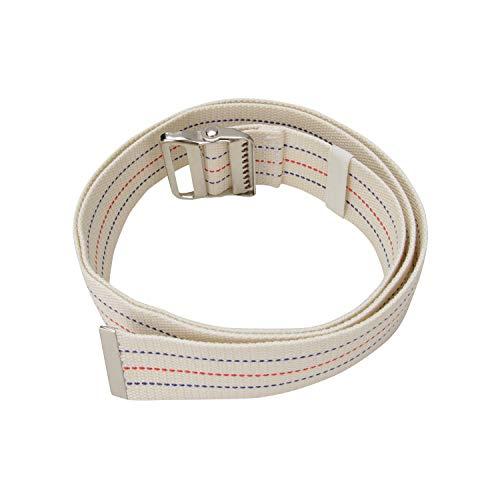 "Walking Transfer Gait Belt with Belt Loop Holder for Caregiver, Nurse, Therapist 60"" with Metal Buckle"