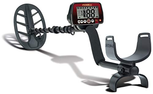 Fisher F44 Weatherproof Metal Detector with 11-inch DD Submersible Search Coil Detectors Metal