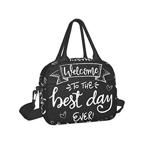 Best Day Lunch Cooler Bags Lunch Bag Tote With Shoulder Strap Insulated For Men Women Kids,Work,Picnic,Travel