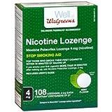 Walgreens Nicotine Lozenge, 4 mg, Mint, 108 ea