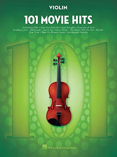 101 Movie Hits -For Violin-: Noten, Sammelband für Violine