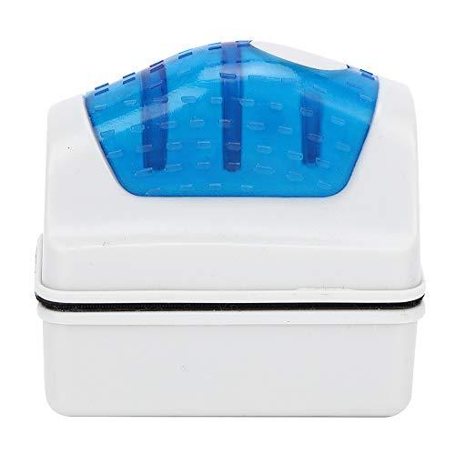 Magnetischer Scheibenreiniger Aquarium Scheibenreiniger Aquarien Scheiben Reinigungsmagnet Aquarium Magnetbürste Glasalgenschaber Reinigungsbürste für die Reinigung von Aquarienalgen im Aquarium(L)