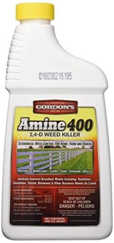 PBI/GORDON CORPORATION 8141082 Amine 400 2,4-D Weed Killer, White