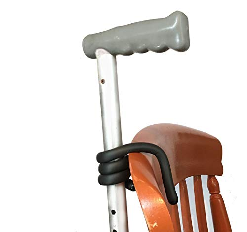 Walking Stick Holder, pack of 2 ties for easy safe walking stick storage. Stick Safe - Stop your walking stick from falling to the ground from your chair, mobility scooter or anywhere you need it.
