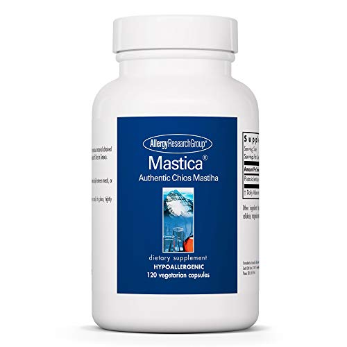 Allergy Research Group - Mastica - Authentic Chios Mastiha - GI Health, Metabolism - 120 Vegetarian Capsules