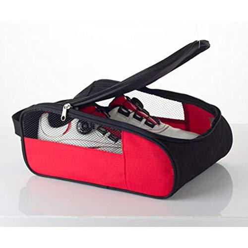 QIA Moda Zapatos de Golf, Bolso portátil con Cremallera Deportes de Malla...