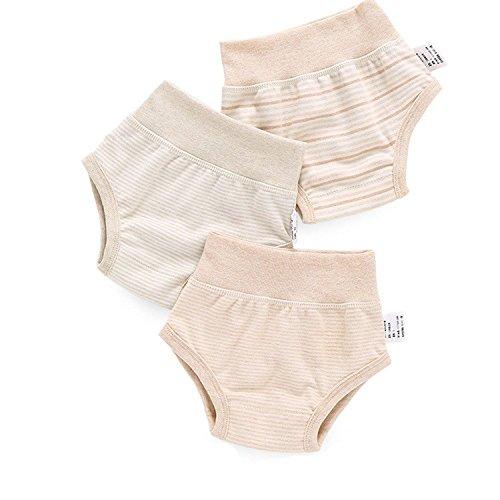 Gemini Fairy sous-vêtements bébé 3 Pack Organic Cotton Pantalons (M)