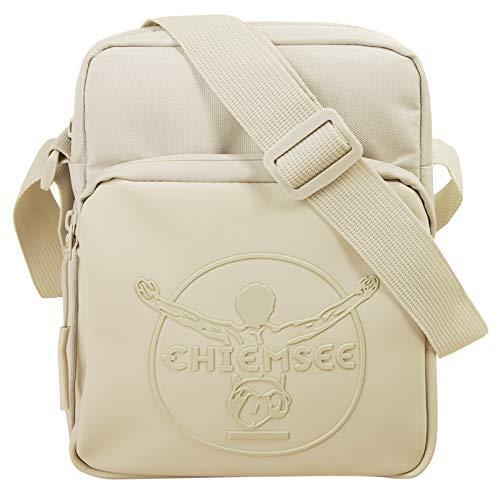 Chiemsee Track n Day Kleine Umhängetasche für Herren, Schultertasche Messenger Bag Kuriertasche, Creme