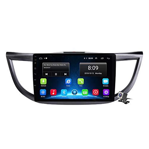 Buladala 10.1 Pollici Full Touch Screen Android 8.1 Quad Core Stereo MP5 Player per Honda CR-V 2012-2016, Supporto GPS Navigation/Autoradio/Controllo del Volante,4g+WiFi: 2+32gb