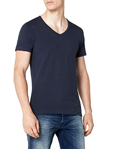 JACK & JONES heren Basic V-neck Tee S Noos T-shirt