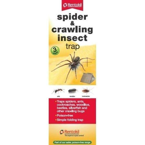 Rentokil Lot 3 pièges pour Insectes rampants