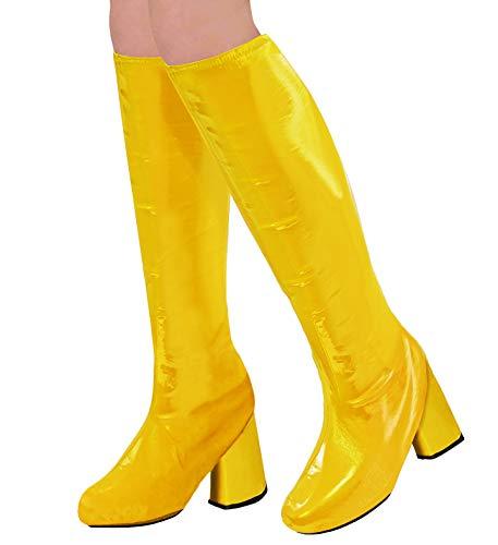 WIDMANN 65783 Stiefelüberzieher für Erwachsene Damen Gelb