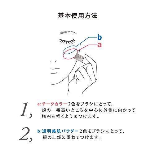 カネボウ化粧品『コフレドールスマイルアップチークスN』