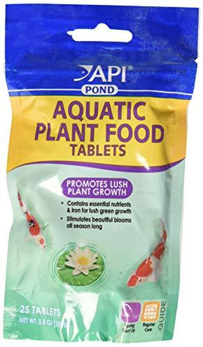 API (3 Pack) Pond Care Aquatic Plant Food, 25 Tablets Each